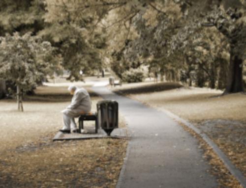 Пожилой человек и отношение к жизни