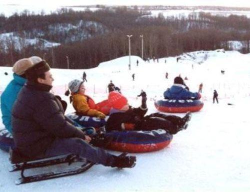 Тюбинг — самый опасный и непредсказуемый вид зимнего отдыха