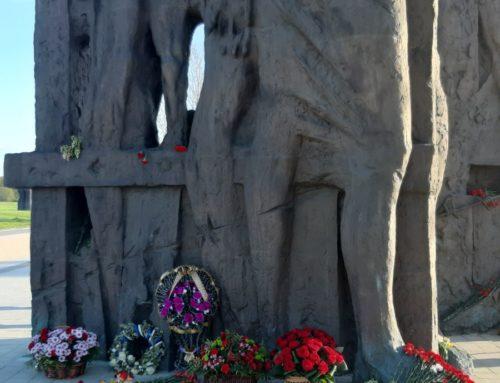 Память о солдатах Великой Отечественной жива.